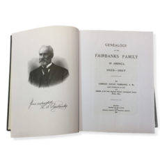 Genealogy of the Fairbanks Family in America 1633-1897
