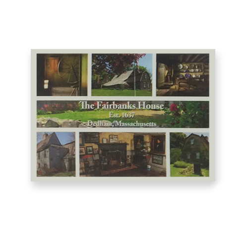 Fairbanks House - Postcard