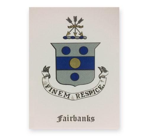 Fairbanks Coat of Arms