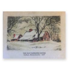 Fairbanks House - Season's Greetings Card