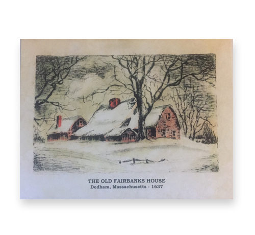 Fairbanks House - Season's Greetings Card