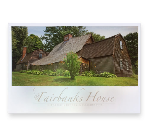 Fairbanks House - Poster