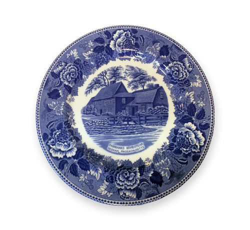 Fairbanks House - Plate