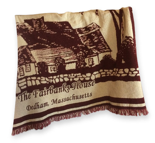 Fairbanks House - Throw Blanket