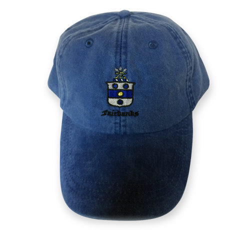 Fairbanks Baseball Cap Blue