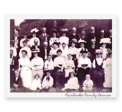 Fairbanks Family Reunion Registration