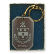 Fairbanks House Key Chain