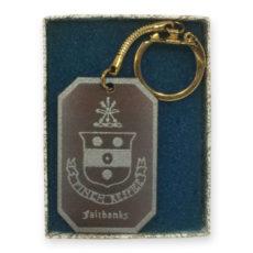 Fairbanks House Key Chain