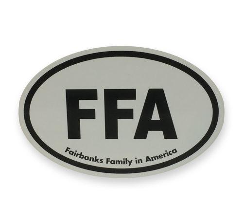 FFA Bumper Sticker
