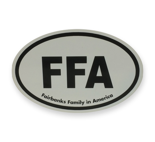 FFA Bumper Sticker